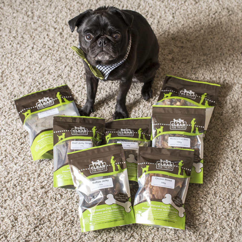 Clear Dog Treats Review | www.thepugdiary.com