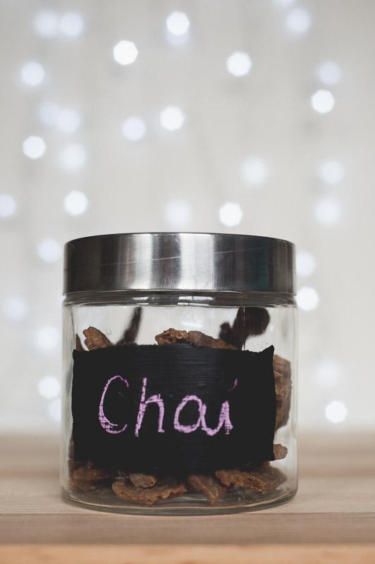 DIY Chalkboard Treat Jar | www.thepugdiary.com