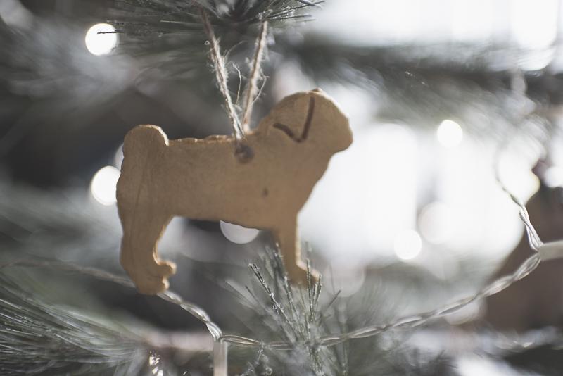 DIY Pug Christmas Ornaments | www.thepugdiary.com