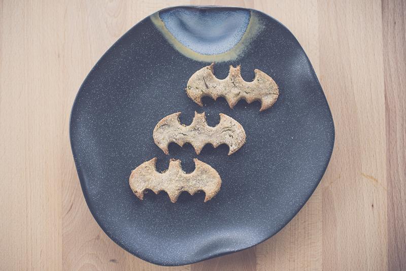 Mint Carob Cookie Dog Treat Recipe | www.thepugdiary.com