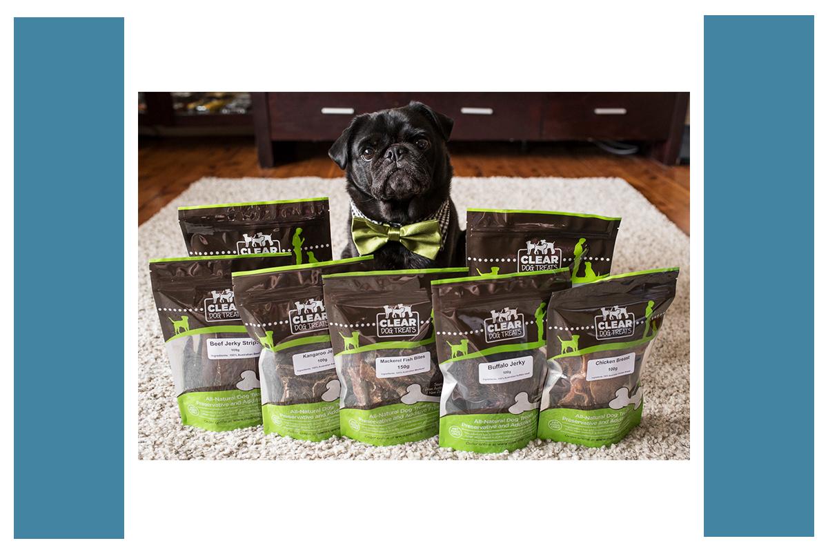 Clear Dog Treats | www.thepugdiary.com