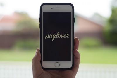 Pug Lover Phone Wallpaper | www.thepugdiary.com