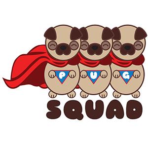 Pug Squad | www.thepugdiary.com